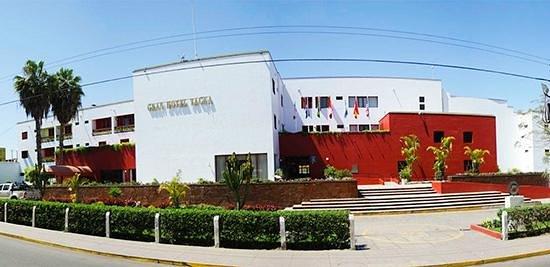 DM Hoteles Tacna: Fachada.