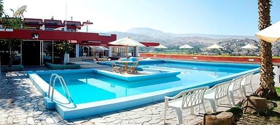 DM Hoteles Moquegua : Piscina