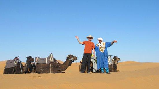 Bivouac Territori Nomada : Our camel safari begins