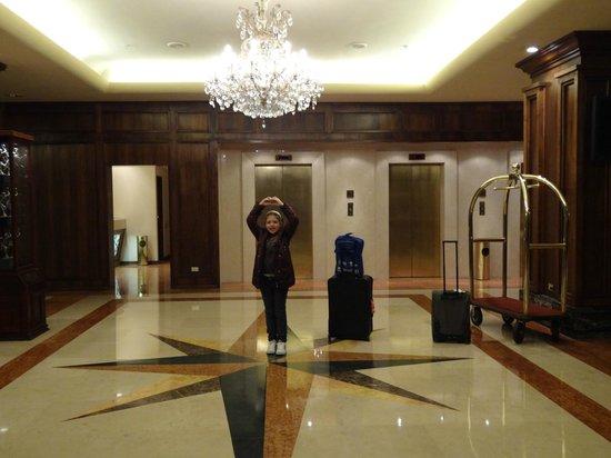Crowne Plaza Hotel Santiago: Hall de entrada
