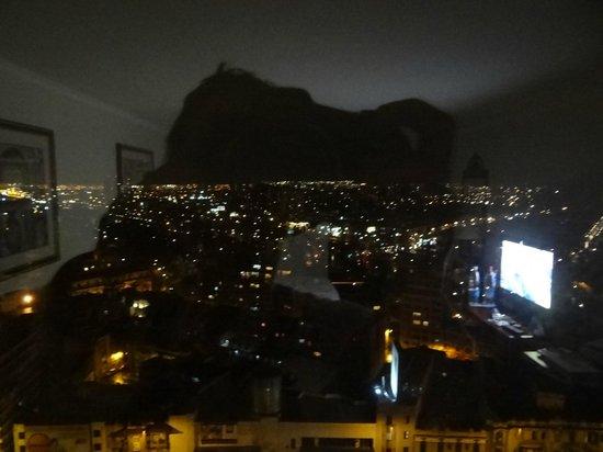 Crowne Plaza Hotel Santiago: Vista do quarto