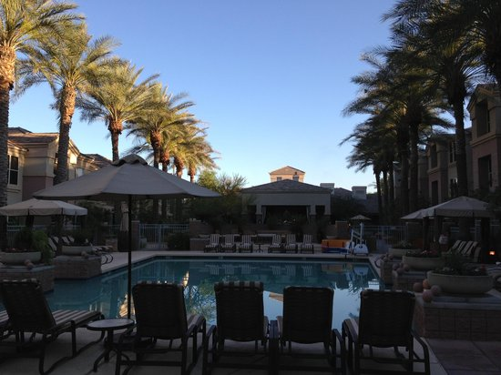 Gainey Suites Hotel: evening pool shot