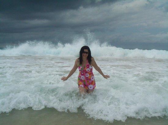 Flamenco Beach : Esta area de la playa es divertidisima, aunque posee olas es llana, me encanta!
