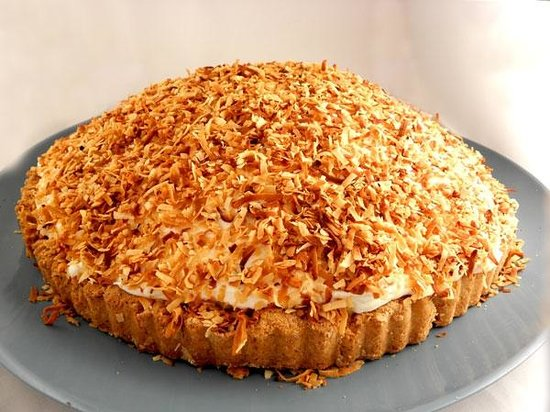 Yiasou Cafe: Coconut Cream Pie