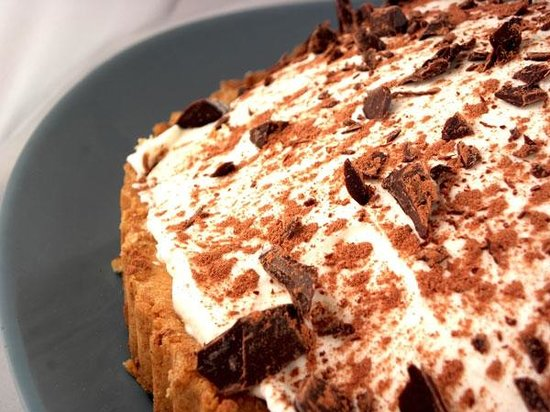 Yiasou Cafe: Chocolate Cream Pie