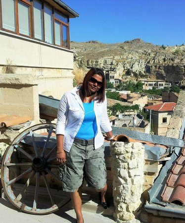 Dedeli Konak Cave Hotel: On Roof Terrace