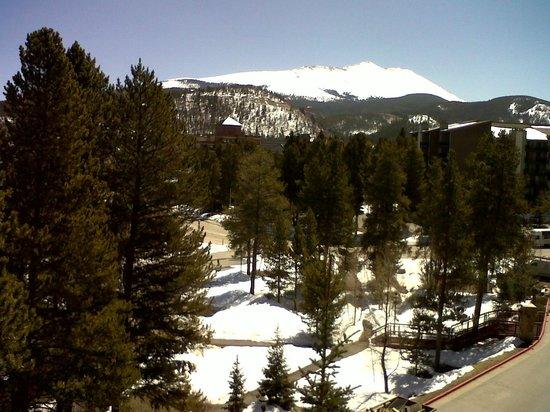 Valdoro Mountain Lodge: View from balcony