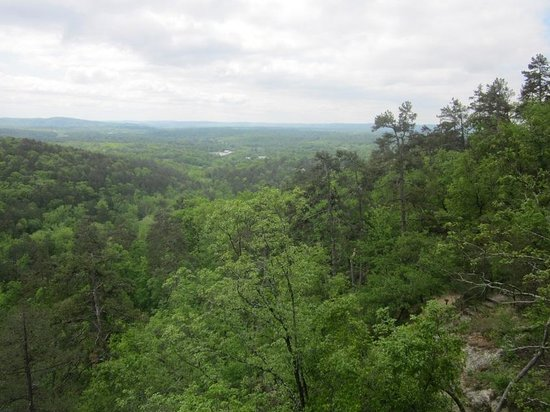 Hot Springs Mountain: View from Goat Rock
