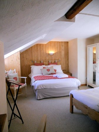 Les Cimes: Family bedroom