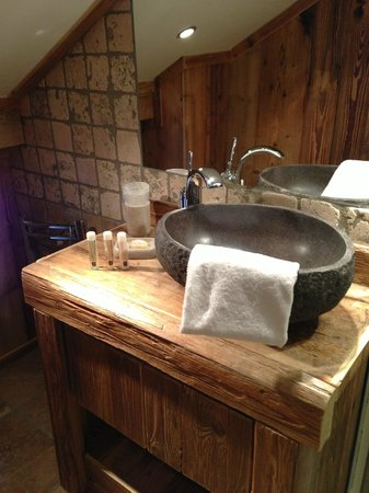 Les Cimes: Bathroom