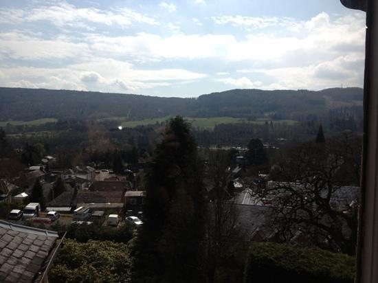 Knockendarroch Hotel & Restaurant: View from room 11