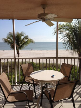 Estero Island Beach Villas: View from 204