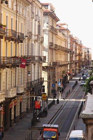 Hotel Chelsea : Via XX Settembre dal nostro balconcino