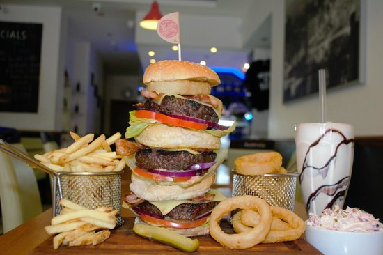 Photo of American Restaurant Blacks Burgers at 920 Brighton Road, Purley CR8 2LN, United Kingdom