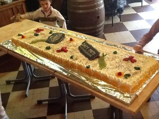 Le louvre: dessert spécialement conçu pour nous