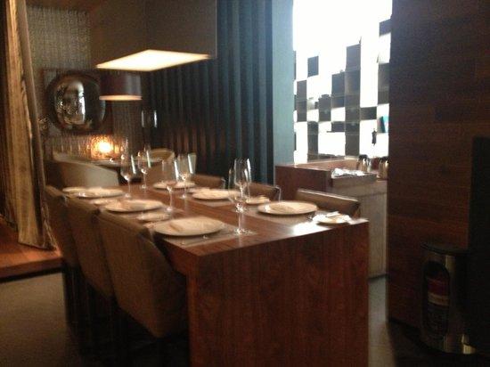 Live Aqua Mexico City Hotel & Spa: Restaurante