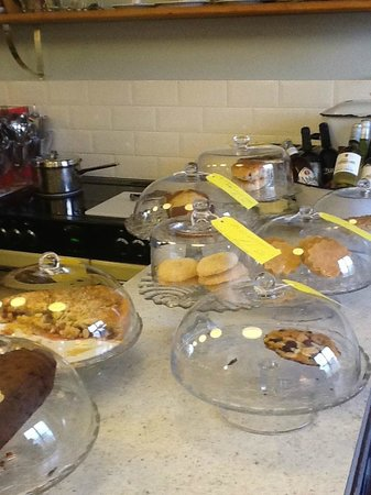 Cafe fortysix: The cakes, buns, biscuits (and the chilled wine!)