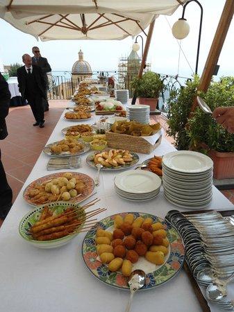 Hotel Tramonto d'Oro: Buffet