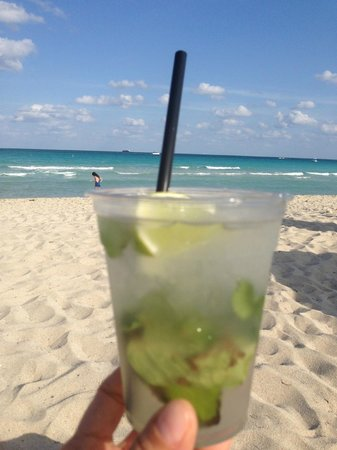 K17 Beach Club: ahaa mojito!