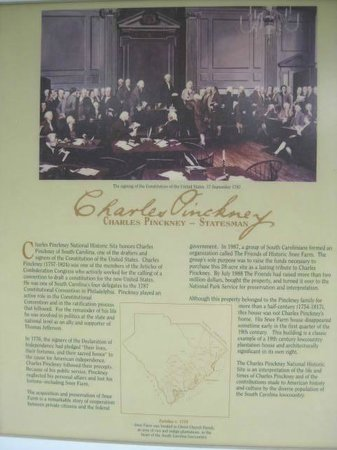 Charles Pinckney National Historic Site: Info on Charles Pinckney