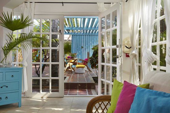 Boardwalk Hotel Aruba: Patio One Bedroom Casita