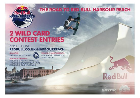 Just Wake: Red Bull Harbour Reach event
