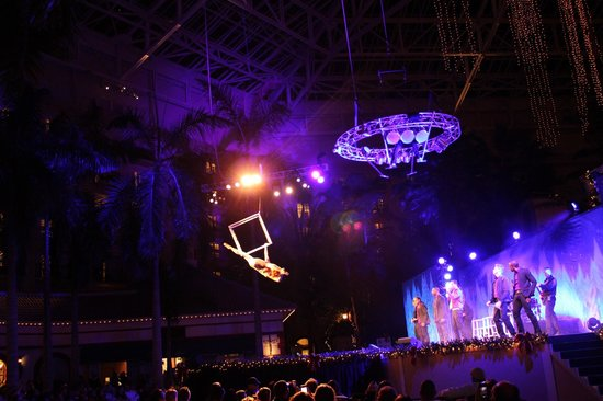 Gaylord Palms Resort & Convention Center: drummer in the sky