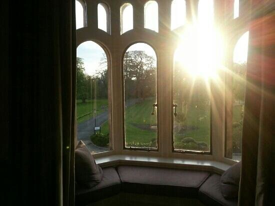 Rookery Hall Hotel & Spa: view from january