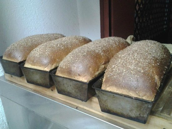 West Park Cafè : All Wheat Multigrain Bread