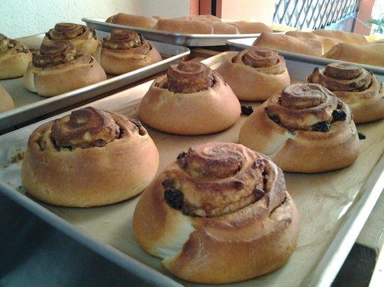 West Park Cafè: Cinnamon Buns