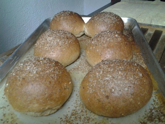 West Park Cafè: All Wheat Multigrain Hamburger Buns (NEW)