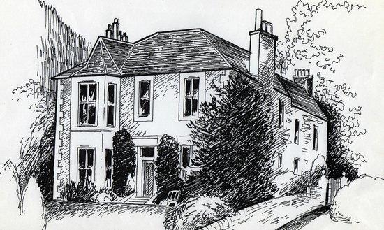 Arden House, Callander: Exterior