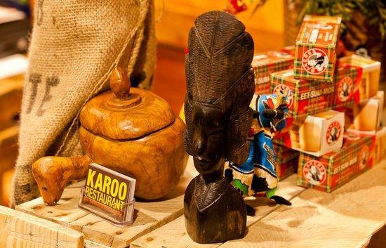 Karoo Restaurant: More african goods