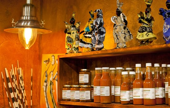 Karoo Restaurant: Our homemade sauces and spices