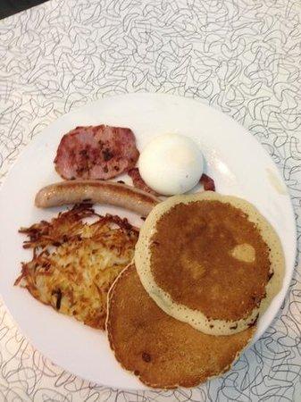 Warsaw Diner : the big 'something' breakfast