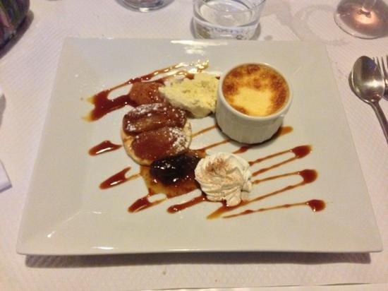 La Vieille Poste : Le dessert de l'artiste