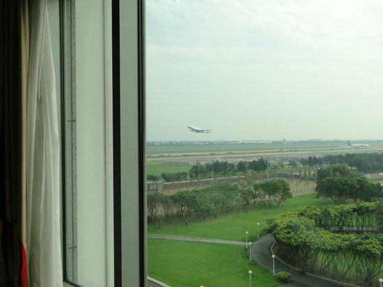 Hotel Novotel Taipei Taoyuan International Airport: View from the room
