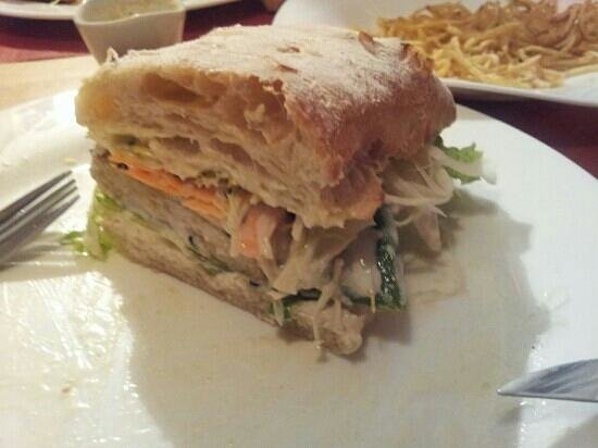 Le Shanti : Delhi Burger