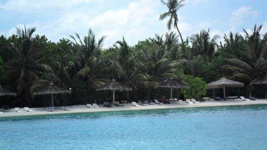 Cinnamon Dhonveli Maldives: Beach lagoon