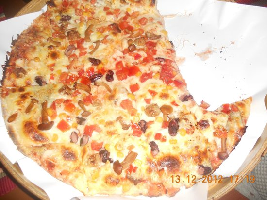 Pizza Grande: Большая пицца гранде :) Вкусная! :)