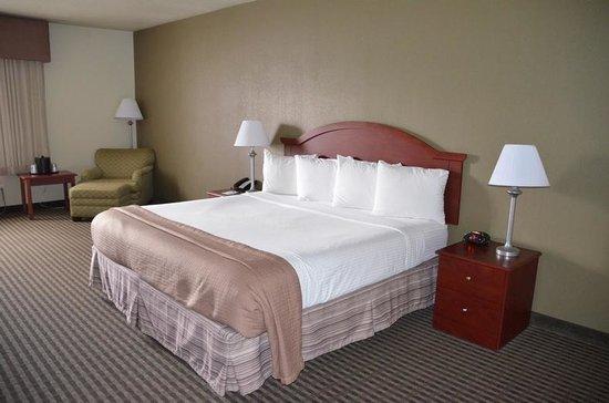 BEST WESTERN Elko Inn: Bed at  Best Western Elko