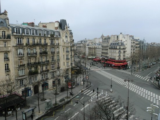 Raspail Montparnasse Hotel: View from our room