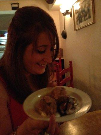 The Bari: Best profiteroles I've ever tasted!