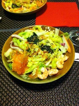 Take sushi: insalata...