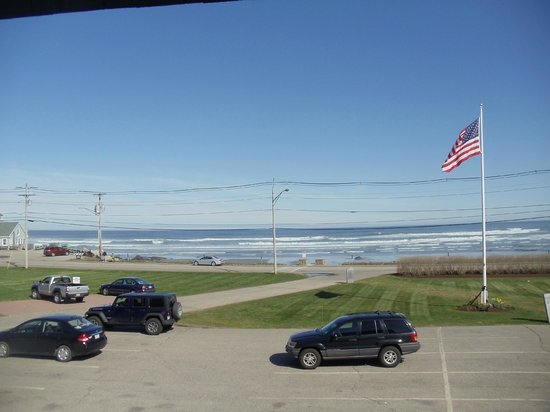 Anchorage Inn: View from our balcony