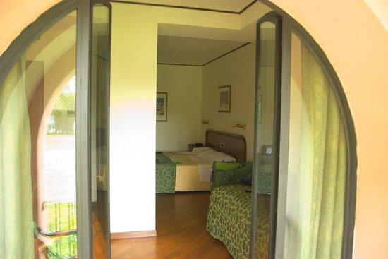 Relais San Clemente: La camera vista dal balconcino