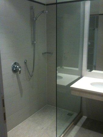 Hotel Mito: doccia