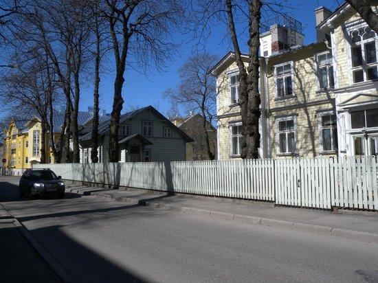 Poska Villa: La casa è quella verde piccola