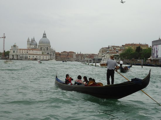Hotel Panorama: Gondolier Grand Canal Venice