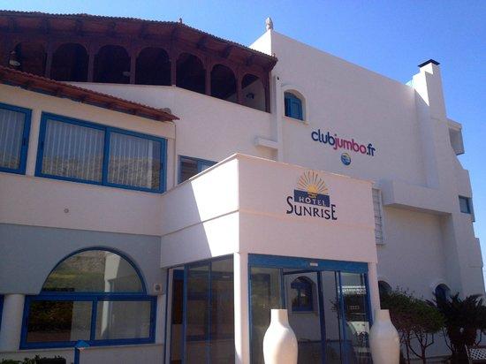 Seaside Sunrise Hotel : l'entrée de l'hotel
